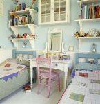 Комната для двух детей в стиле кантри