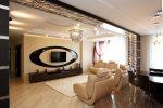 Квартира с контрастным оформлением