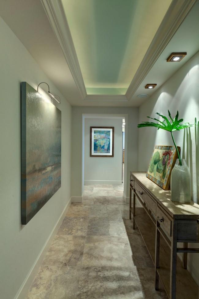 Подсветка в длинном коридоре