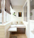 оформление малогабаритного балкона
