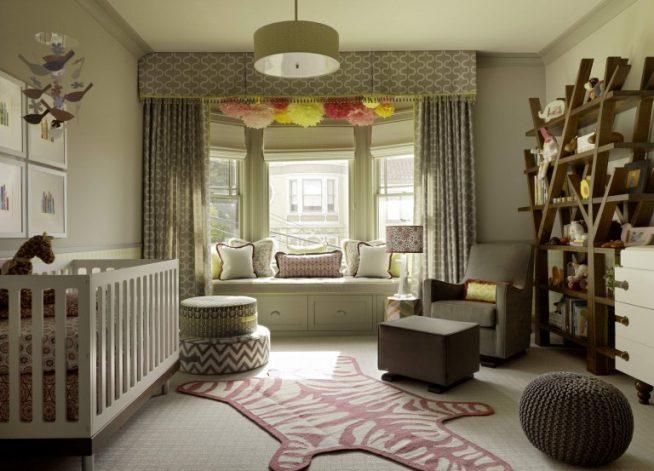 Совмещение детской комнаты и лоджии