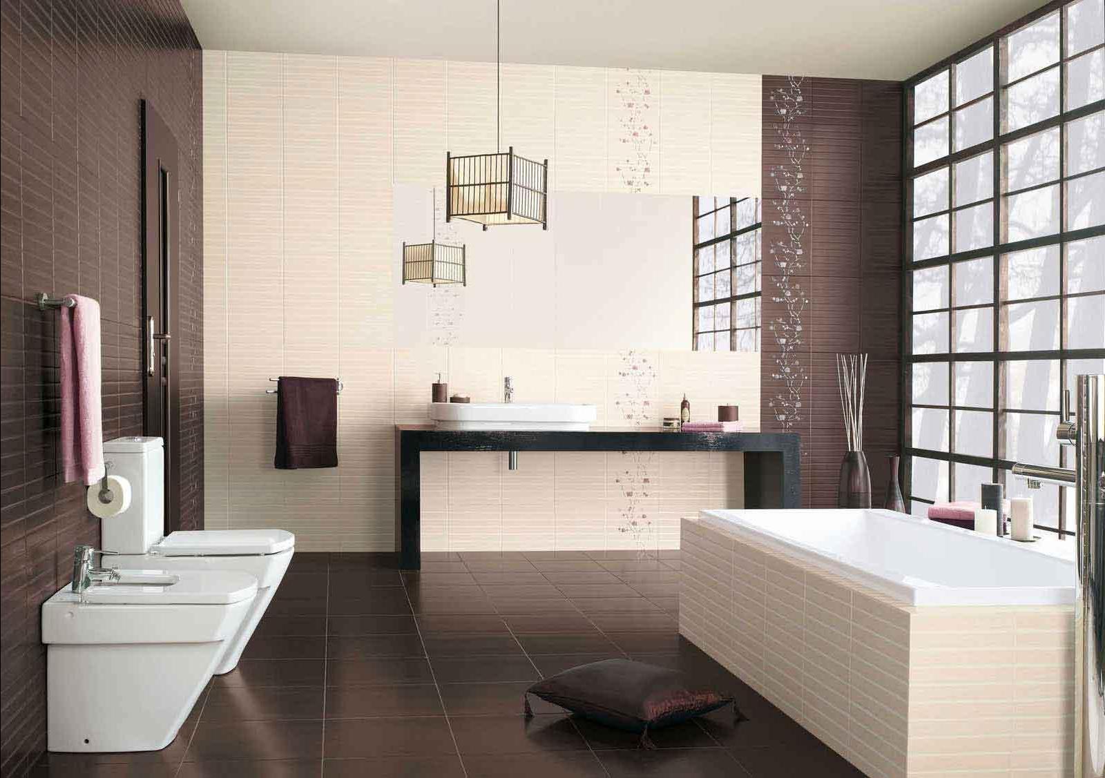 Дизайн плитки в ванной комнате — на что обращать внимание при выборе