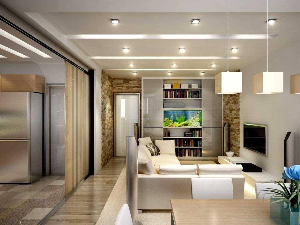 Создаём дизайн однокомнатной квартиры площадью 40 кв.м.