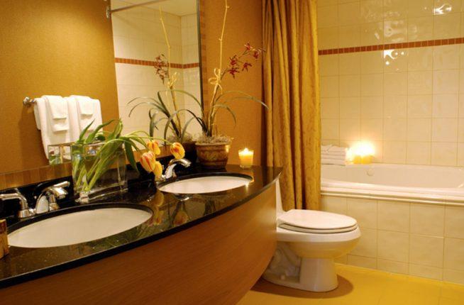 Этнический стиль в ванной комнате