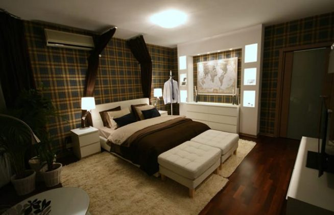 Дизайн спальни для мужчины