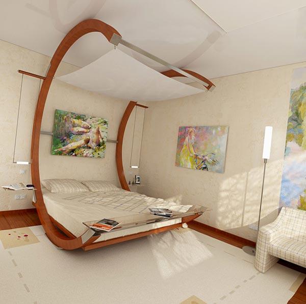 Интерьер малогабаритной комнаты для сна