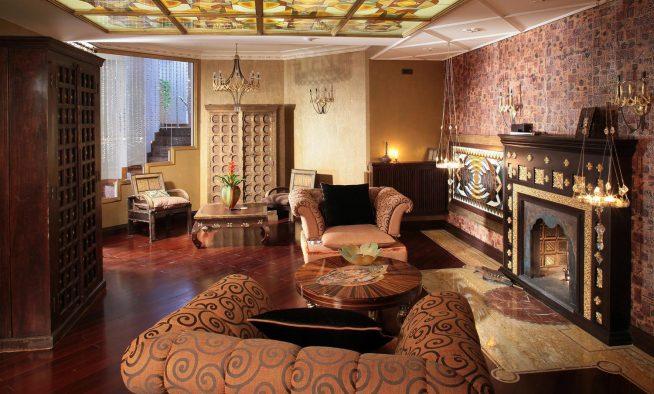 Дизайн комнаты гостиной 18 м.кв