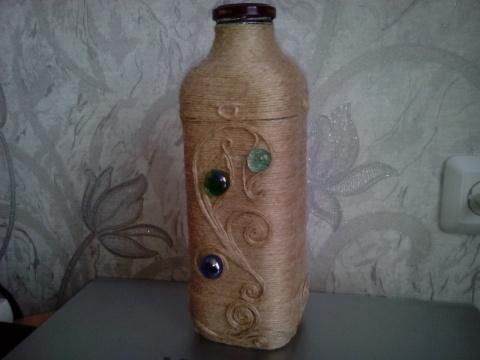 Бутылка джут