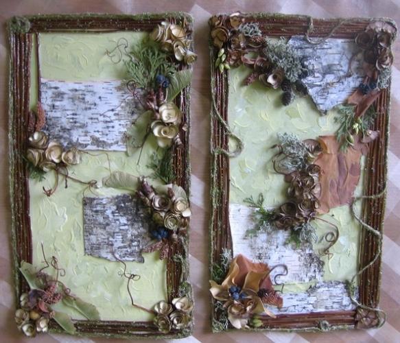 Картины для декора эко-интерьера