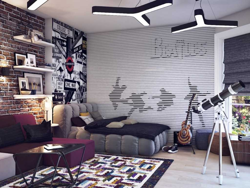 Как сделать дизайн комнаты мальчика-подростка стильным и современным: практические советы