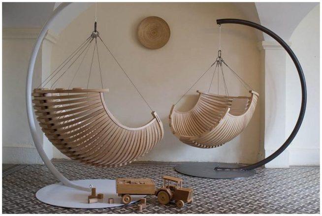 Подвесные кресла для комнаты в авнгардном стиле