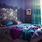 Спальня бирюза