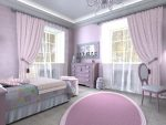Спальня для принцесс лавандовая