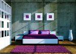 Спальня молодёжная в стиле минимализм