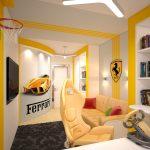 Комната в спортивном стиле