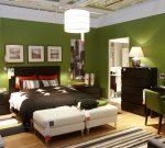 Правильный коричневый в спальне