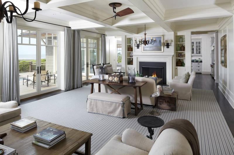 Оформление интерьера гостиной в стиле прованс
