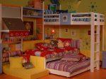 Интерьер современной комнаты для разнополых детей