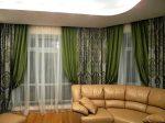 Изысканный дизайн штор в гостиной