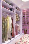 Лавандовая гардеробная