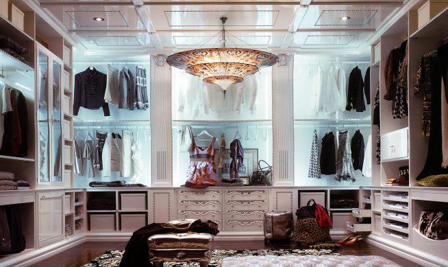 Роскошная гардеробная