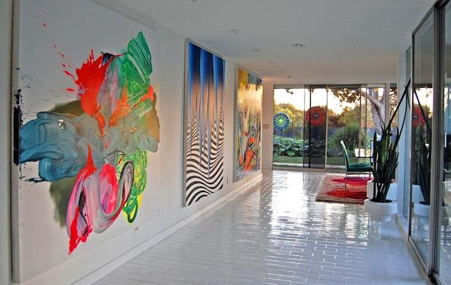 Дизайн стен в стиле поп-арт