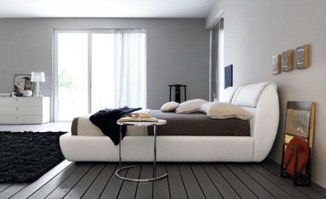 Обстановка спальни в стиле минимализм