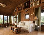 Классический американский стиль в гостиной