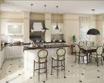 Кухня в классическом американском стиле