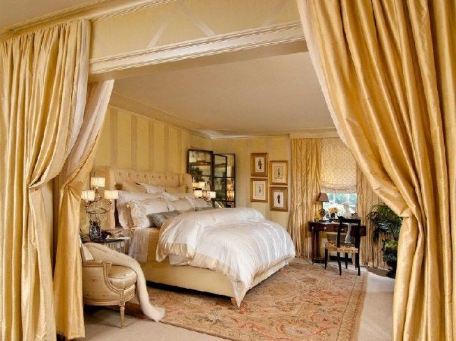 Барочный текстиль спальни