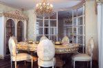 Кухня-гостиная в барочном дизайне