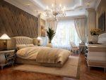 Уют и покой в неоклассической спальне