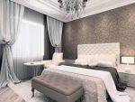 Интерьер спальни в стиле современная классика