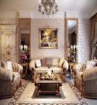 Разнообразие источников освещения в гостиной