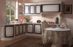 Барочный интерьер кухни