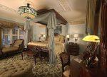 Оформление спальной зоны в стиле барокко