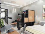 Совмещённая гостиная со спальной комнатой