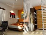 Совмещённая спальня и гостиная