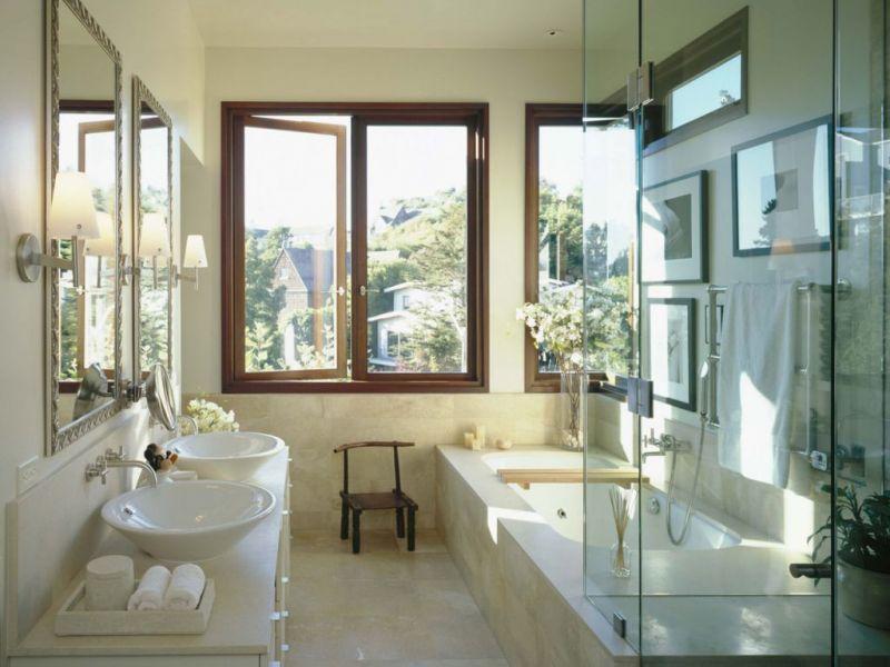 40 интересных вариантов дизайна ванной комнаты в частном доме