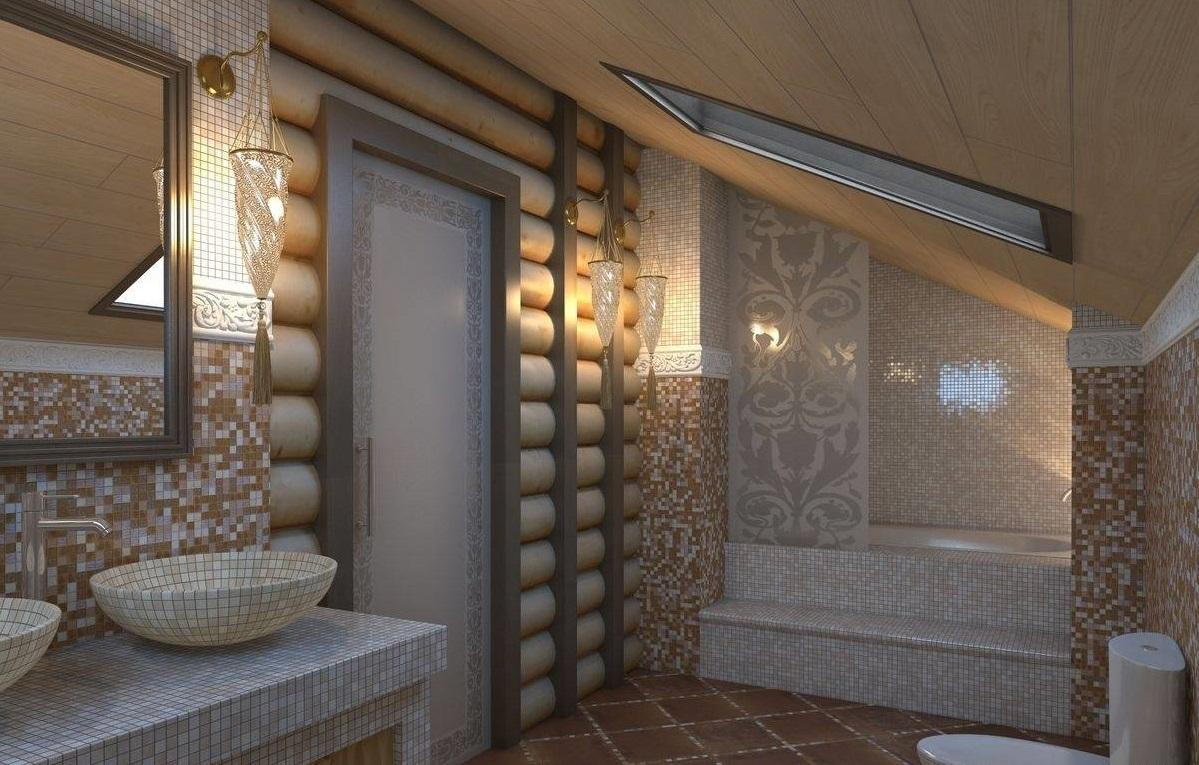 связан санузел в деревянном доме фото дизайн скрапбукинга особенности