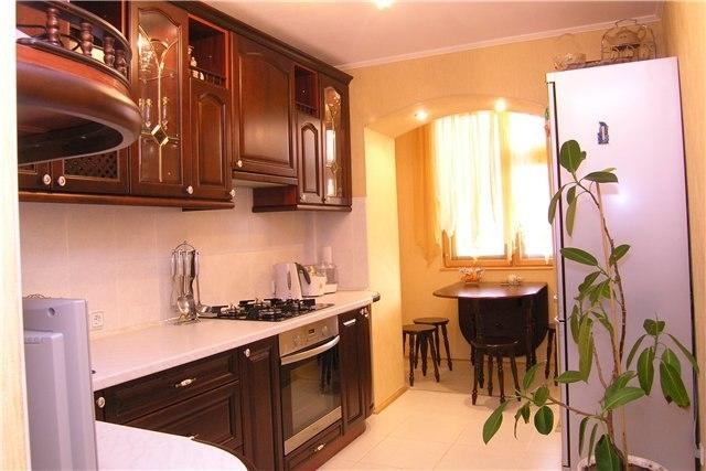 Дизайн и планировка маленькой кухни