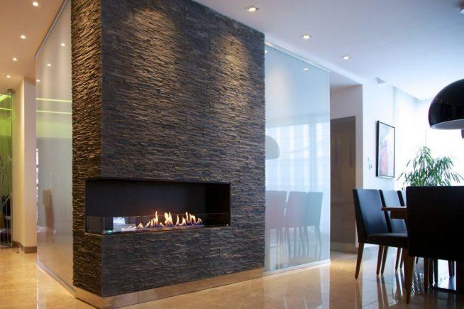 Электрокамин в дизайне гостиной