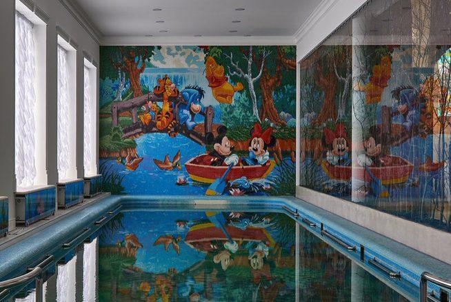 Детский бассейн в доме Киркорова