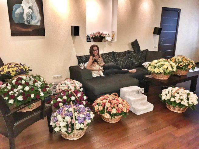 Квартира Ольги Бузовой