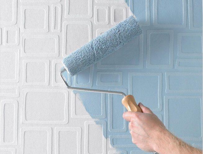 Валик для окраски стен
