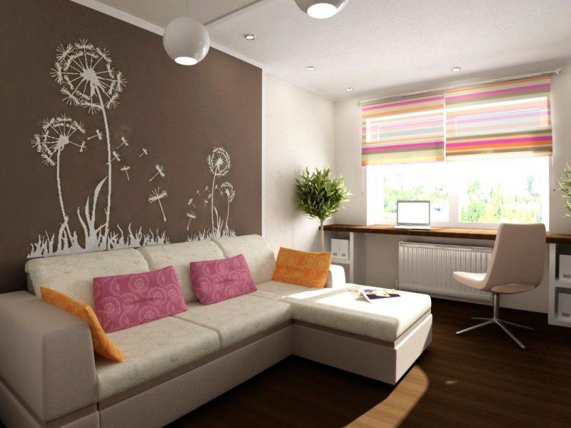 Идеи дизайна однокомнатной квартиры 30 кв. м