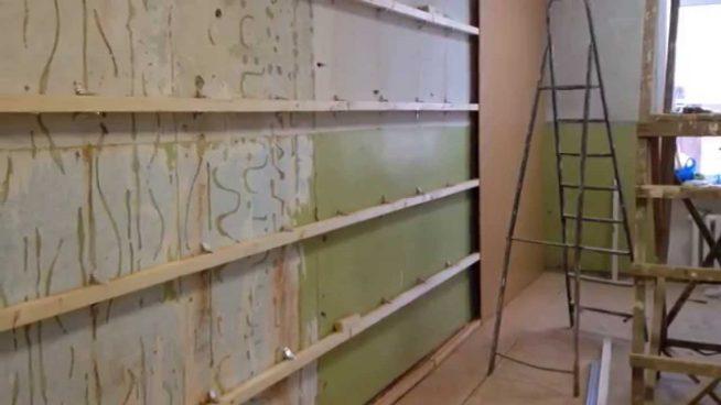 Монтаж стеновых панелей из МДФ