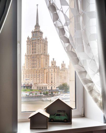 Вид из окна Ксении Собчак