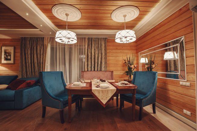 Комната в дачном доме Сергея Лазарева