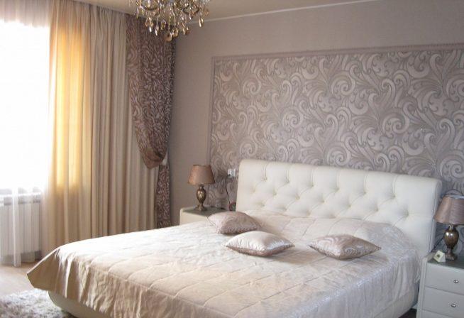 Дизайн небольшой спальни в светлых тонах